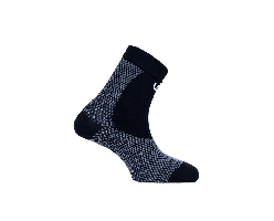 Socquettes de compression multisports WeRun by WePerf  - noire