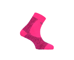 Socquettes de compression multisports WeRun by WePerf-rose