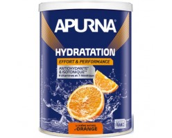 Apurna Boisson Hydratation Orange Pot de 500g