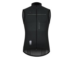 GILET VÉLO COUPE-VENT GOBIK PLUS 2.0 BLACK LEAD